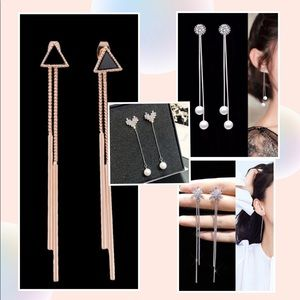 Jewelry - 4 pairs of fashion dangle earrings
